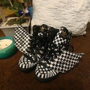 "Adidas by Jeremy Scott ""Checker Board"""